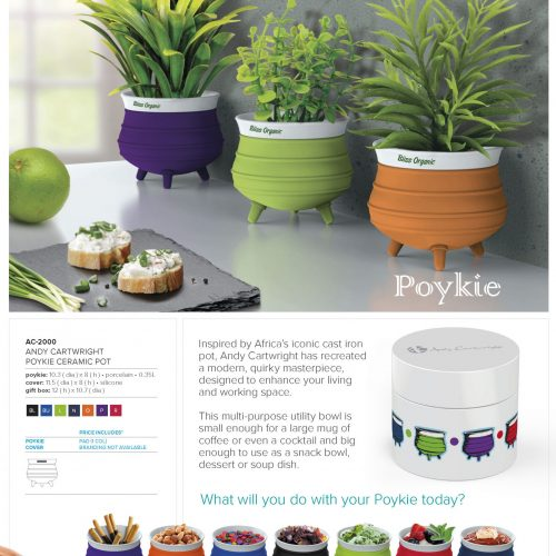 ANDY CARTWRIGHT POYKIE CERAMIC POTS