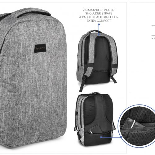 BARRIER TRAVEL-SAFE BACKPACK