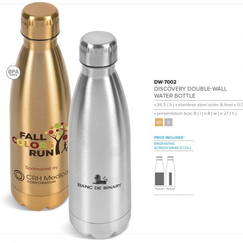 DISCOVERY DOUBLE WALL WATER BOTTLE