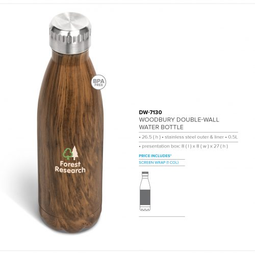 WOODBURY DOUBLE WALL WATER BOTTLE