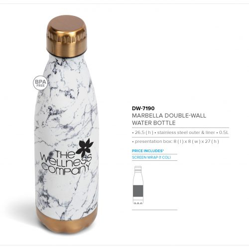 MARBELLA DOUBLE WALL WATER BOTTLE