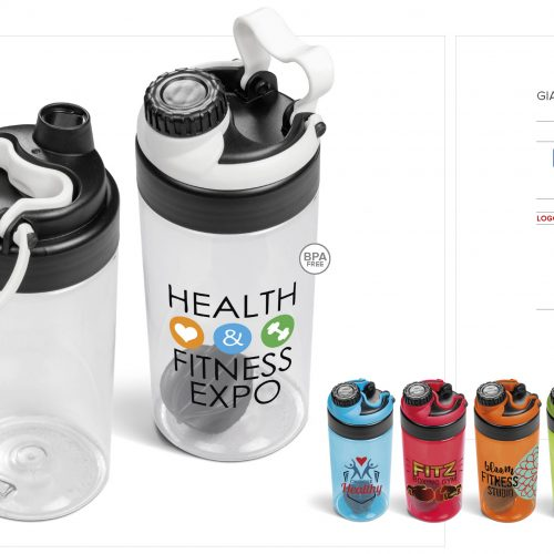 GIANNA WATER BOTTLE PROTEIN SHAKER