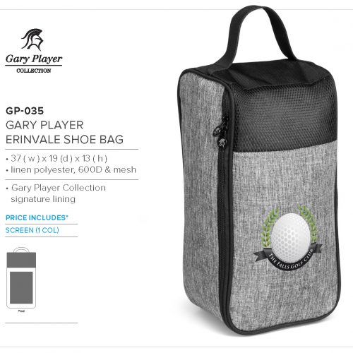 GARY PLAYER SHOE BAG