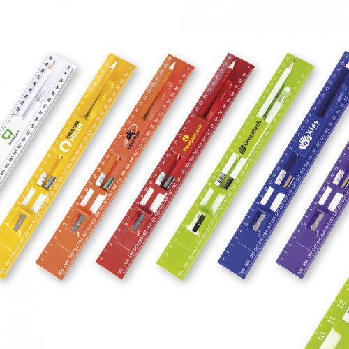 ALL-IN-1 RULER STATIONERY SET
