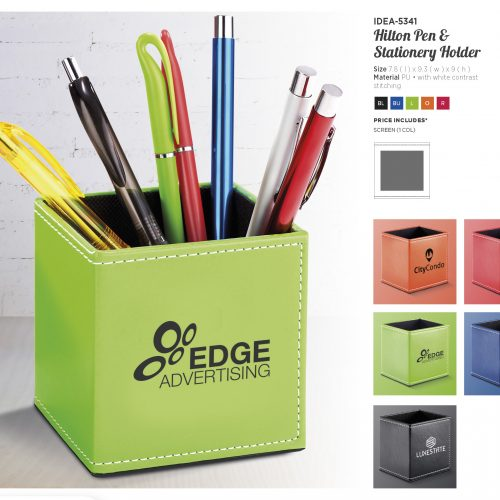 HILTON PEN & STATIONERY HOLDER