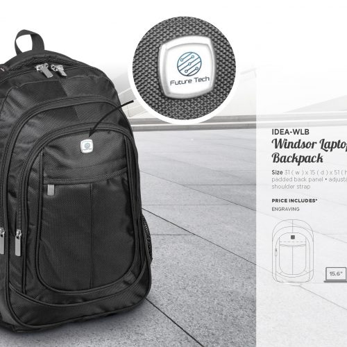 WINDSOR LAPTOP BACKPACK