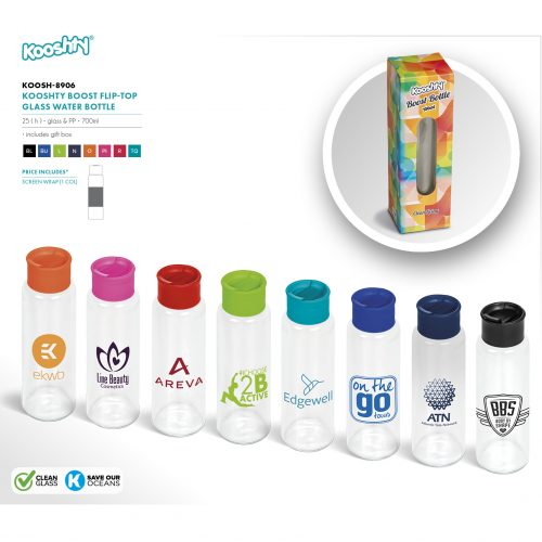 KOOSHTY BOOST WATER BOTTLE
