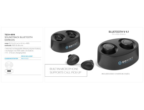 SOUNDTRACK BLUETOOTH EARBUDS
