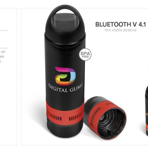 BANDIT DELUXE WATERBOTTLE AND BLUETOOTH SPEAKER