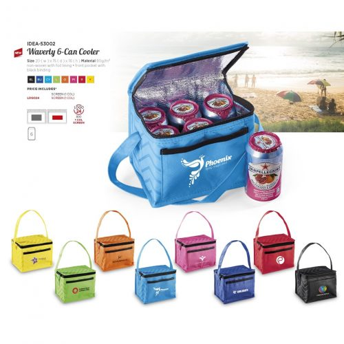 WAVERLY 6 CAN COOLER
