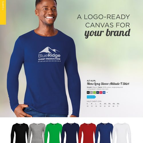 MENS LONG SLEEVE ALTITUDE T-SHIRT