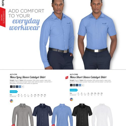 MENS LONG SLEEVE CATALYST SHIRT