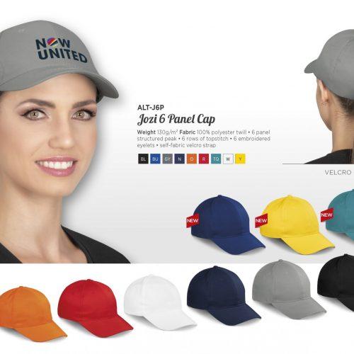 JOZI 6 PANEL CAP