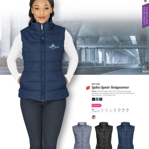 LADIES LANDO BODYWARMER