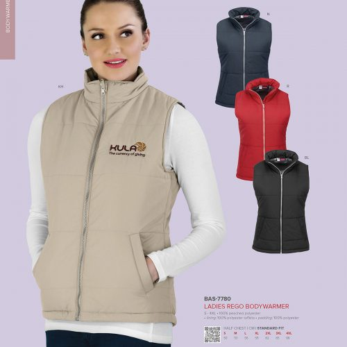 LADIES REGO BODYWARMER