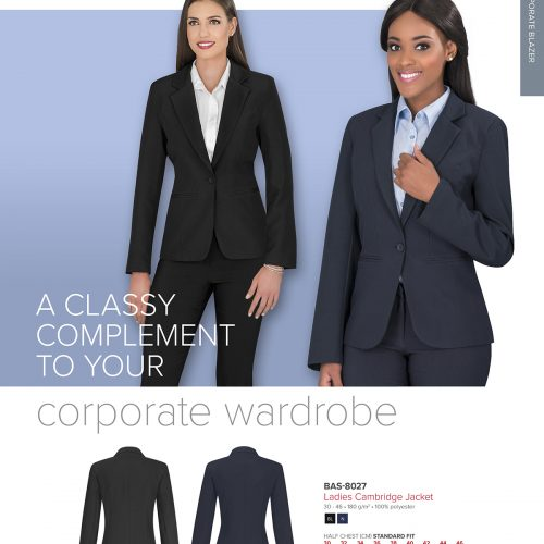 LADIES CAMBRIDGE BLAZER