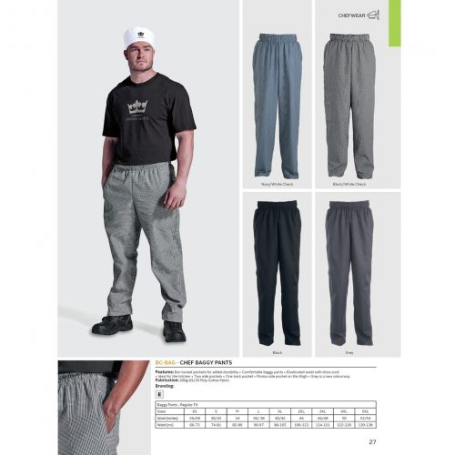 CHEF BAGGY PANTS
