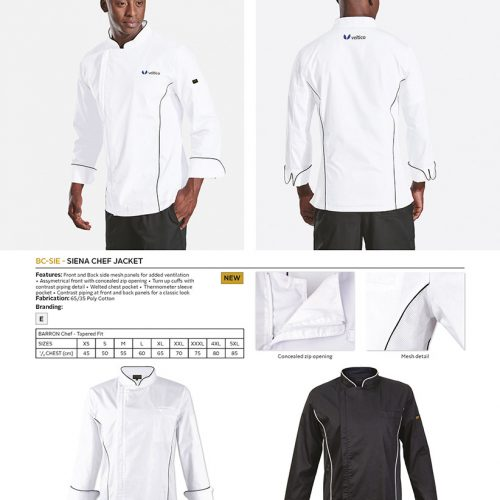 SIENA CHEF JACKET