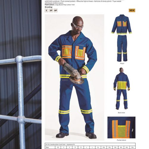 HI-VIS CONSTRUCTION SUIT