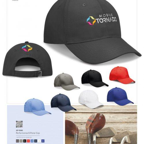 PERFORMANCE 6 PANEL CAP
