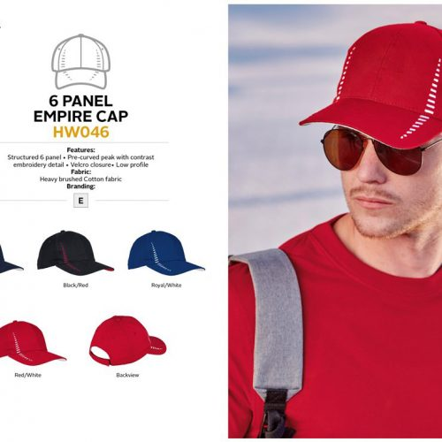 6 PANEL EMPIRE CAP