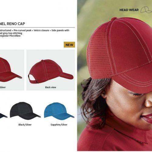 6 PANEL RENO CAP