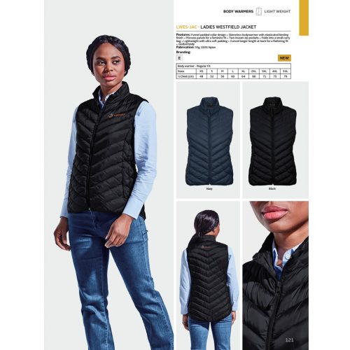 LADIES WESTFIELD JACKET