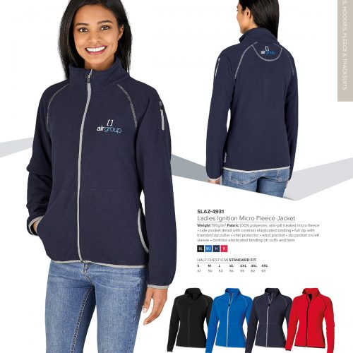 LADIES IGNITION MICRO FLEECE JACKET